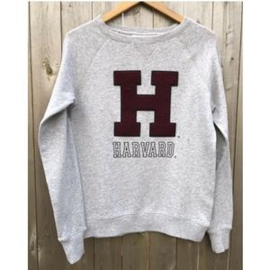 NWT Harvard Sweatshirt with Terrycloth big H logo
